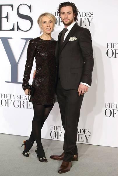 6e9d655a085f6 Aaron Taylor-Johnson & wife Sam Taylor-Johnson age gap | Glamour UK