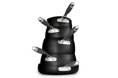 Best cookware sets: the five-piece saucepan set