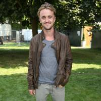 Tom Felton at the Barclaycard British Summer Time Concert