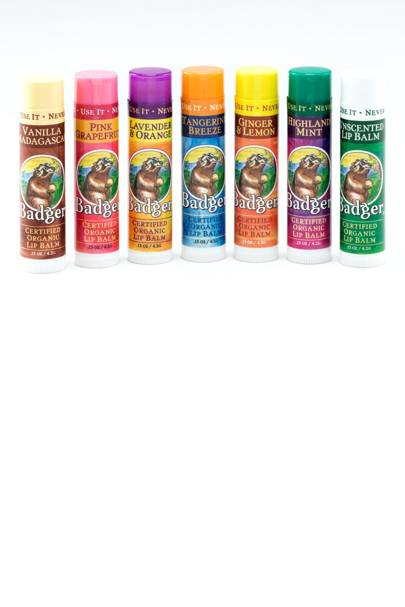 Badger Lip Balms