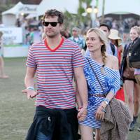 Joshua Jackson and Diane Kruger at Coachella 2012