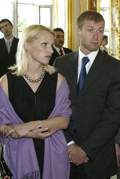 No 2: Roman and Irina Abramovich