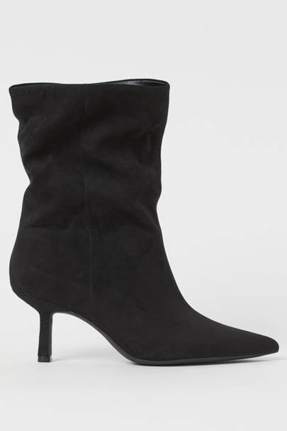 BEST BLACK BOOTS: H&M