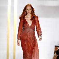 Karen Elson at DVF