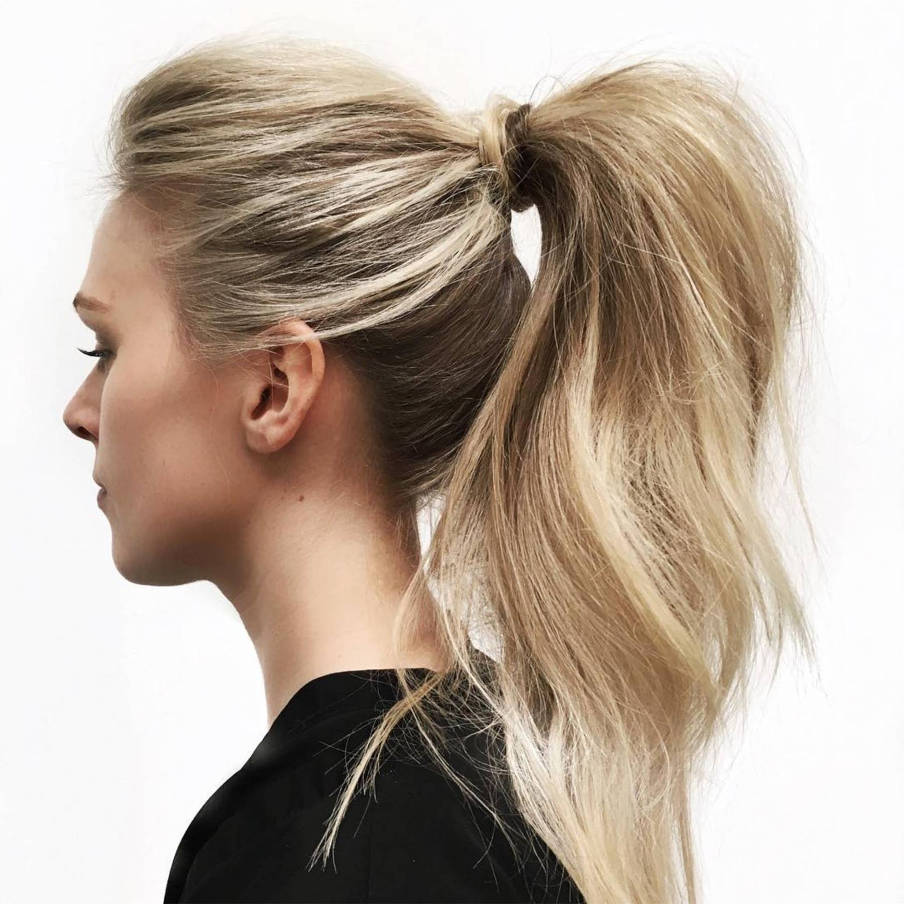 Surprising Ponytail Hairstyles 2019 Hair Up Ideas Glamour Uk Natural Hairstyles Runnerswayorg