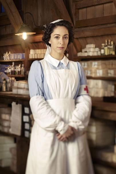 Oona Chaplin as Kitty Trevelyan - The Crimson Field