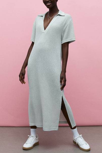 Drouser trend: ribbed dress