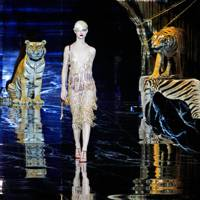 Real tigers at Louis Vuitton?