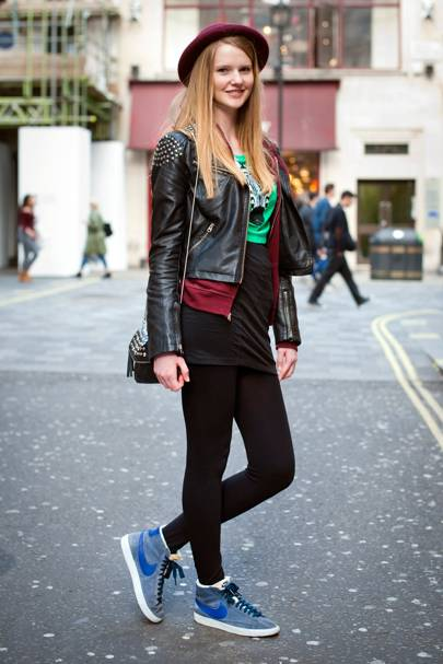 Anna Michaux, Model