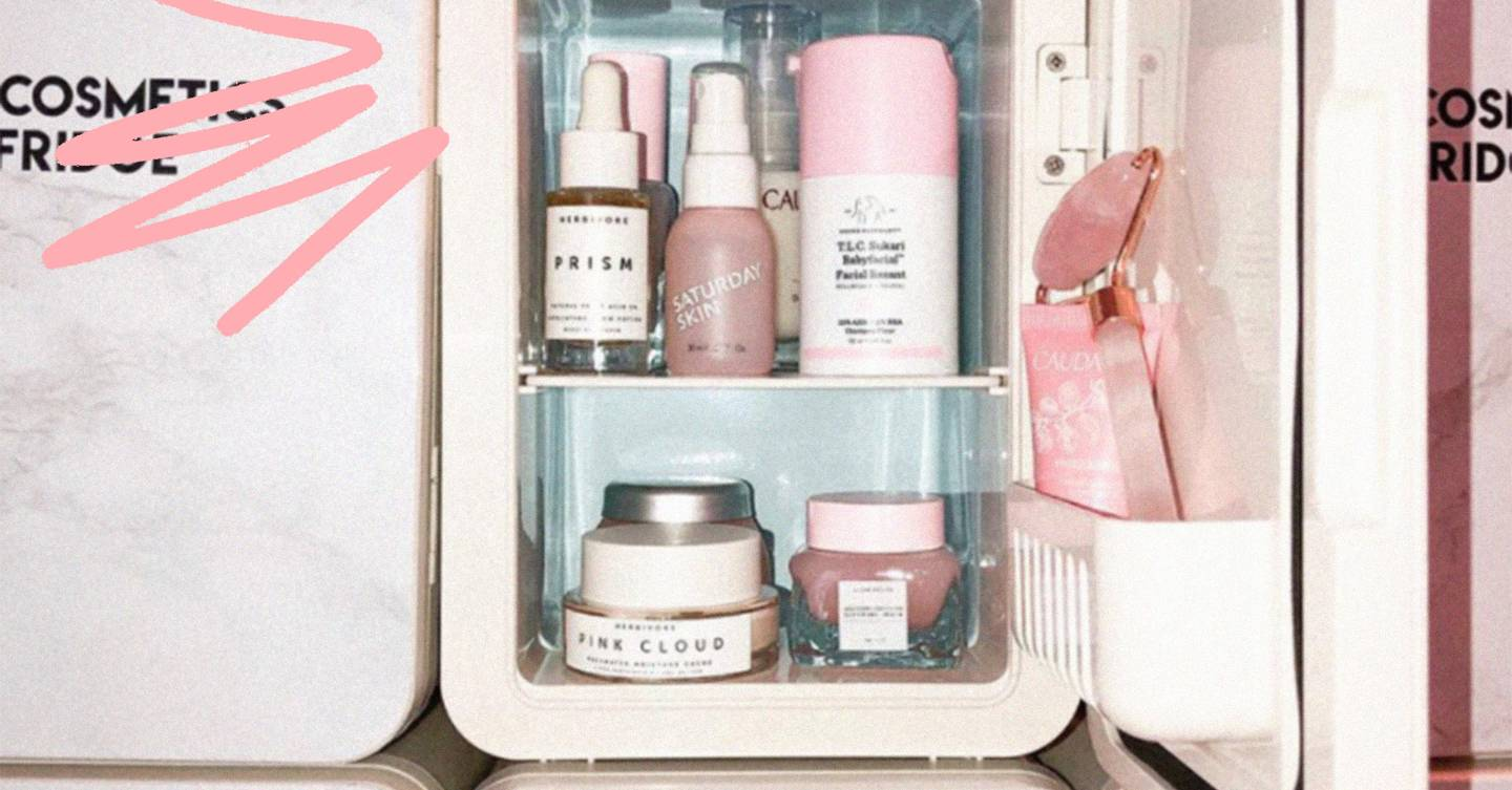 The Best Skincare Fridges Cosmetic Coolers Of 2020 Glamour Uk