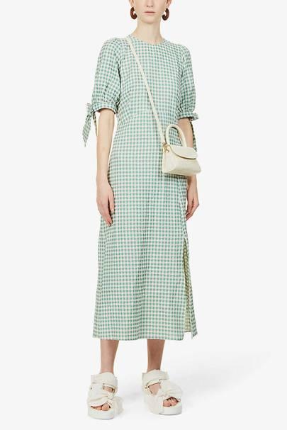 Best Gingham Midi Dress - Nobody's Child
