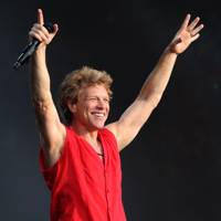 Jon Bon Jovi at the Barclaycard British Summer Time Concert