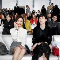 Olga Kurylenko & Stella Tennant