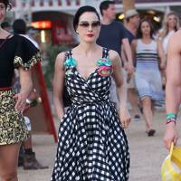 Dita Von Teese at Coachella