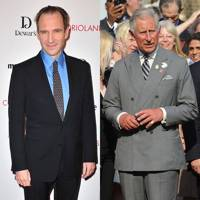 Ralph Fiennes & Prince Charles
