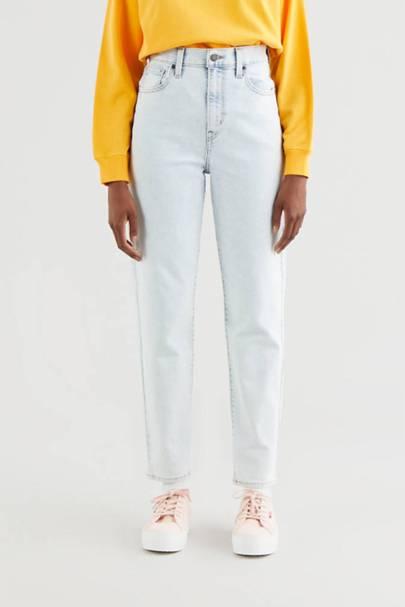 High-Waisted Levi's Jeans