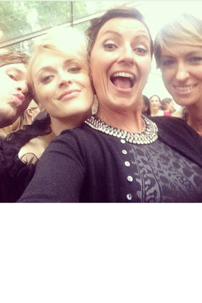 Jesse Wood, Fearne Cotton, Davina McCall & Jo Elvin