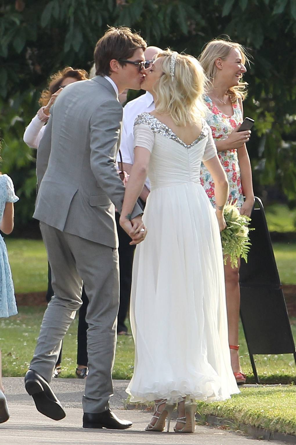 Fearne Cotton Wedding Dress And Jesse Wood Photos Glamour Uk
