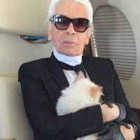 Karl Lagerfeld's beloved cat could inherit some of his £150m fortune