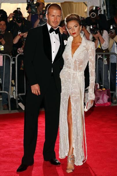 David Beckham and Victoria Beckham, 2008