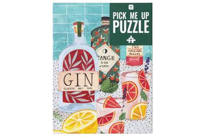 Best jigsaw puzzles for adults: for the gin lover