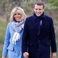 Emmanuel Macron & Brigitte Trogneux