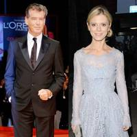 Pierce Brosnan & Emilia Fox