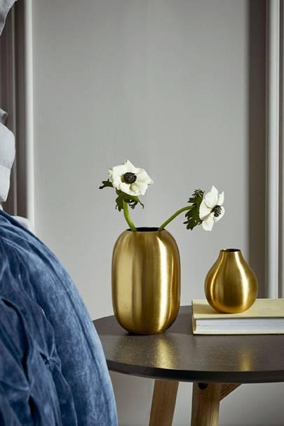 Brass vases