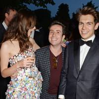 Nick Grimshaw, Keira Knightley and James Righton