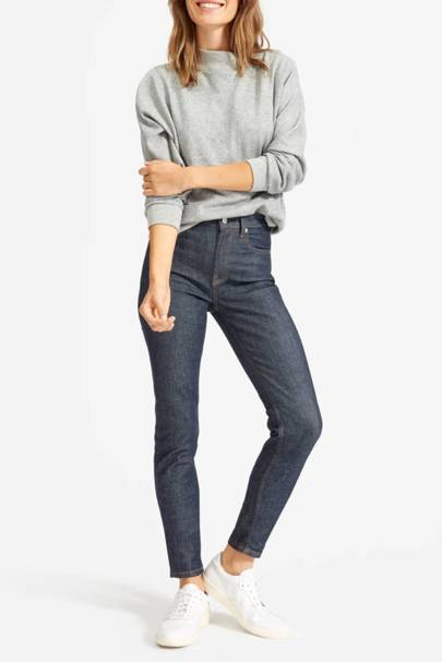 Best high-waisted jeans: Everlane
