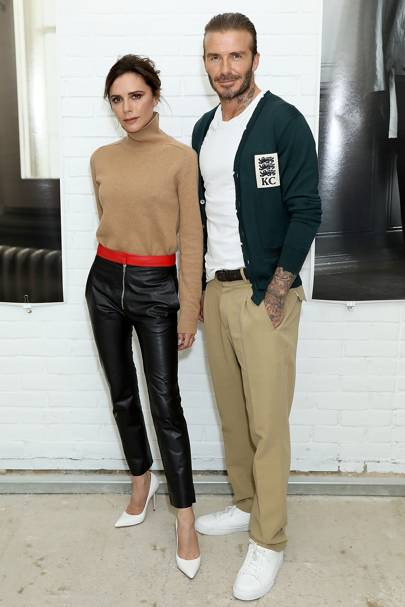 6. David Beckham & Victoria Beckham