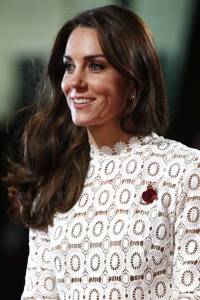 Kate Middleton's princess hair