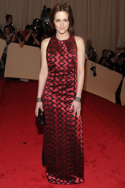 DO #8: Kristen Stewart at the Met Ball, May