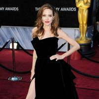 Angelina Jolie's Right Leg
