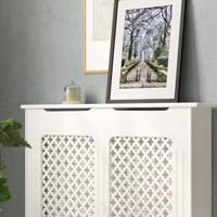 Best storage solutions: the radiator cover