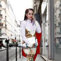 Jessica Bobince, Fashion Director at Bullet Magazine, Paris