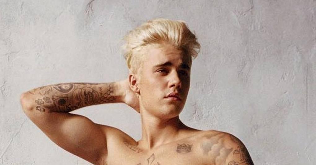Justin Bieber Calvin Klein ad campain photos & video: Spring 2016 ...