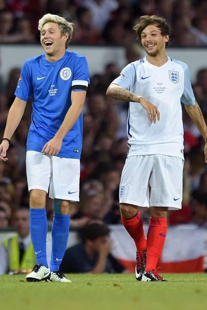 Louis Tomlinson & Niall Horan