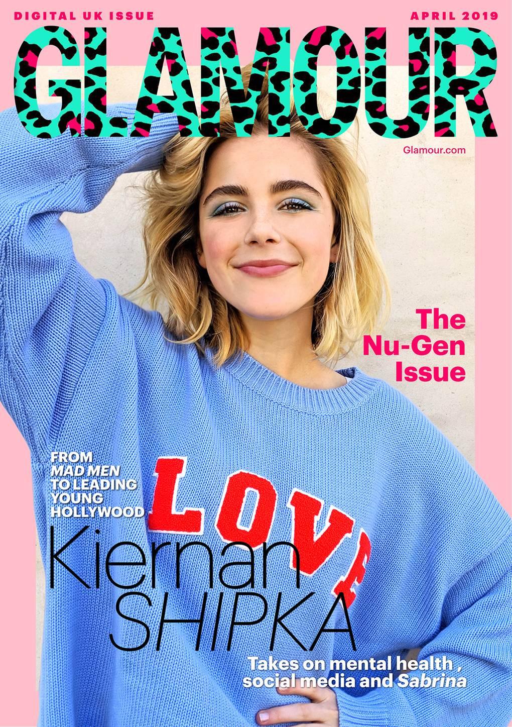 aaaf9a32b5d Netflix Sabrina's, Kiernan Shipka, On Mad Men, Mental health And Social  Media | Glamour UK
