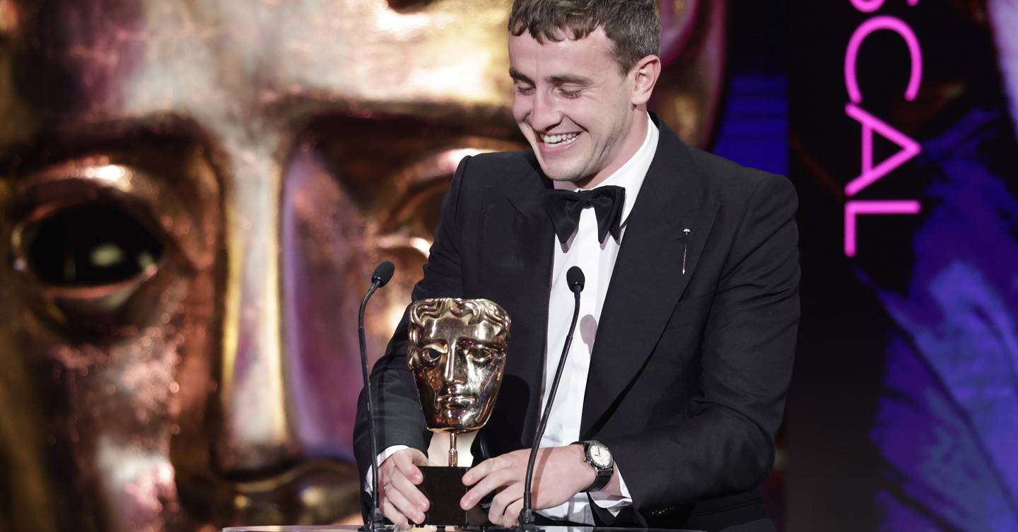 Paul Mescal adorably dedicated his BAFTA to Daisy Edgar-Jones, calling her 'one of the best people he knows' (and it made her properly cry!)
