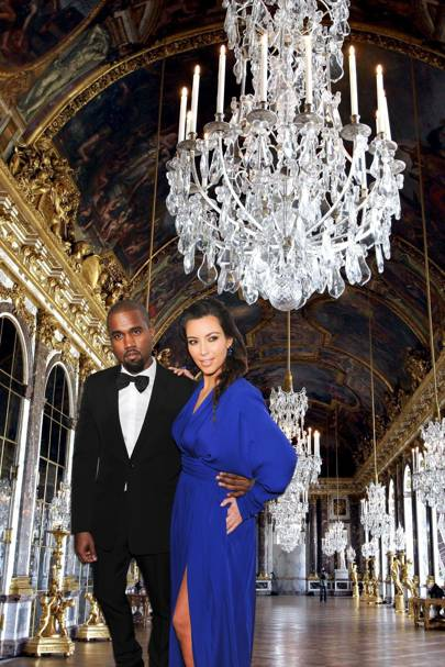 Kimye wed at France's Palace of Versailles – in full costume