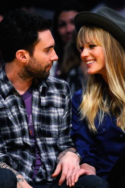 Adam Levine & Anne V