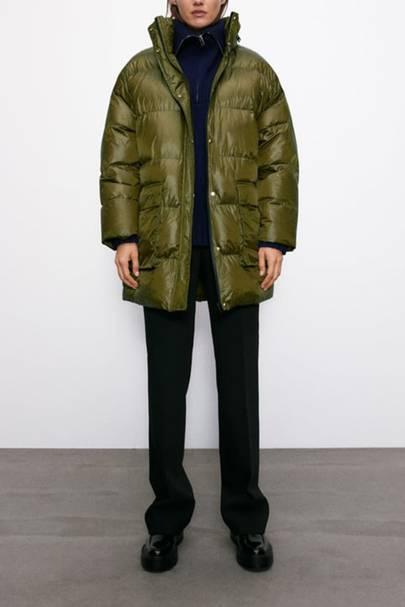 Best Puffer Jacket for Women: Zara