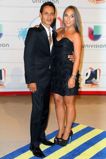 February: Marc Anthony & Chloe Green