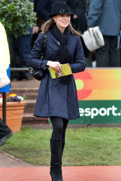 Kate Middleton – Hat A Girl