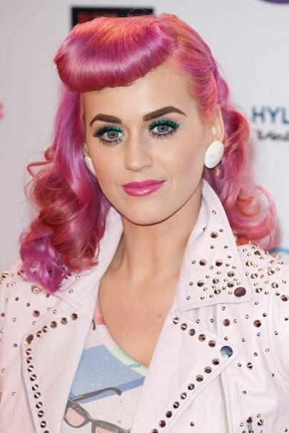 DO #5: Katy Perry's retro pink hairstyle at the MTV EMAs - November