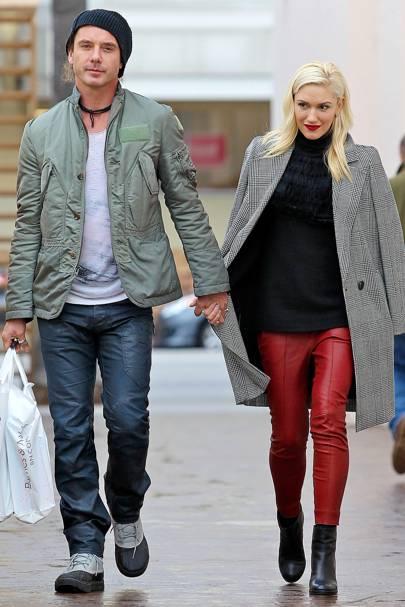 August: Gwen Stefani & Gavin Rossdale
