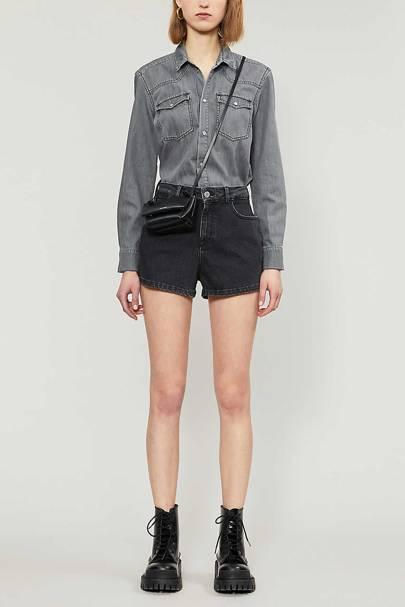 Best Denim Jumpsuit: Shorts Suit