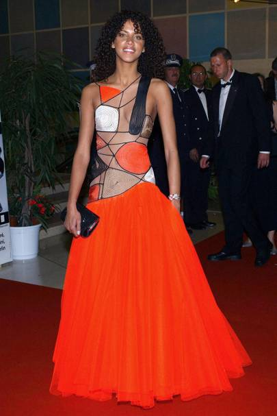 Noemie Lenoir - Cannes 2003