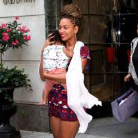 2012: Blue Ivy Carter born